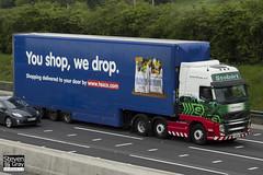 Volvo FH 6x2 Tractor - PX10 DGU - Olivia Suzanne - Eddie Stobart - M1 J10 Luton - Steven Gray - IMG_0690
