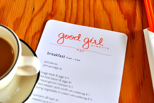 Weekend Breakfast - Good Girl Dinette - Highland Park