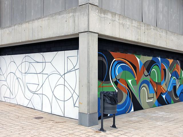 Offf Festival Mural : Day # 2.