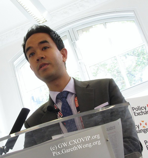 Chris Yiu, Head of the Digital Government Unit @Policy_Exchange, @PXDigitalGov IMG_6914