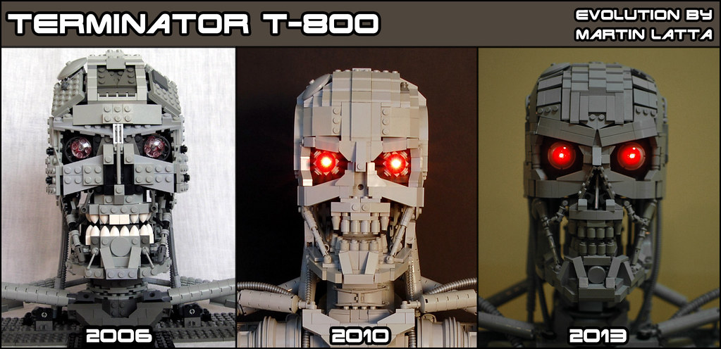 My evolution of T-800
