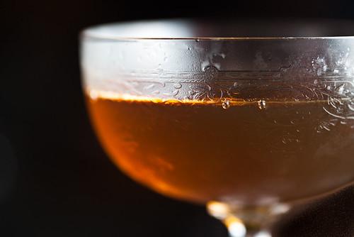 Noblesse Oblige: Pedro Ximénez, Bonal, Vida Mezcal, Cognac Petite Champagne, and Mole Bitters