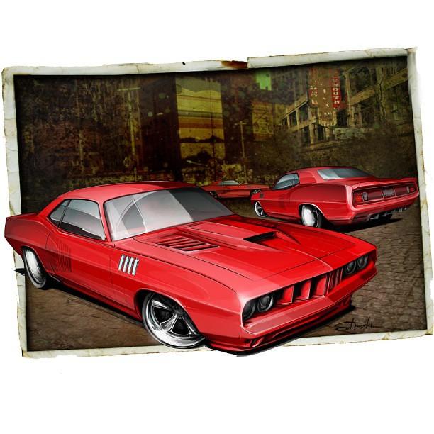 Hemi Cuda Project Car For Sale