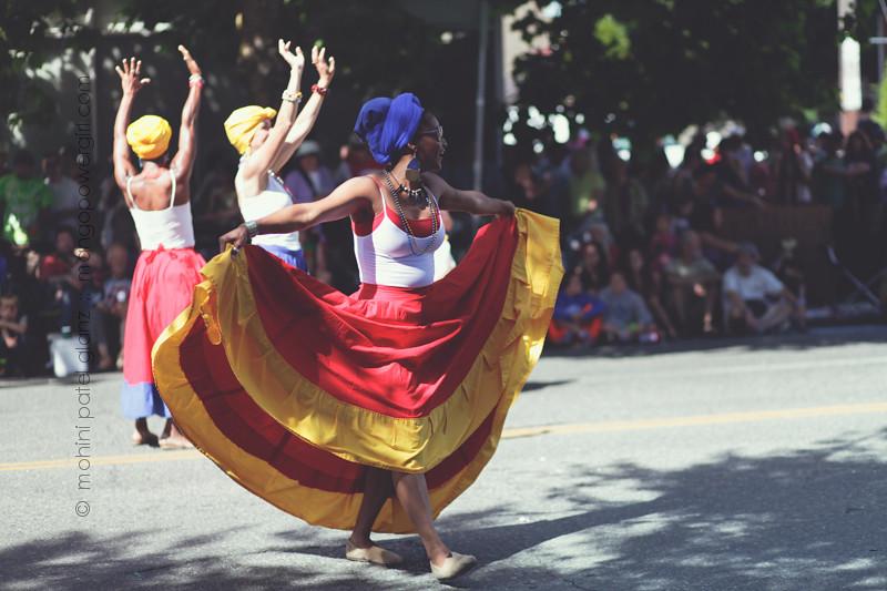 caribbean dancers - 25th fremont solstice parade