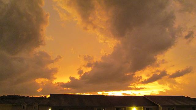 178/365 [2013] - Fire Sky