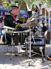 SCOTS Band in Gibraltar - Drum Kit