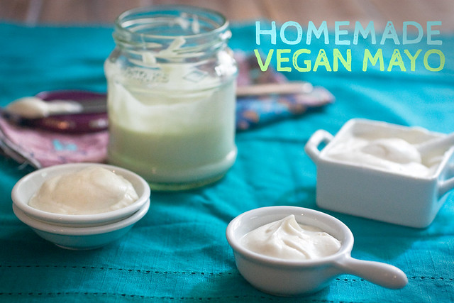 homemade vegan mayo