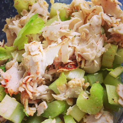 Deli turkey salad
