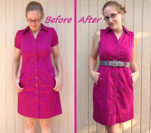Pretty in Pink Before & After
