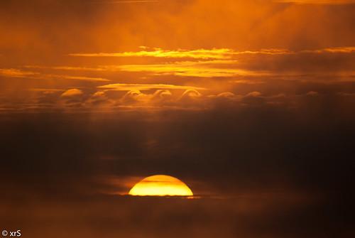 Ondas de nubes by xanesmelle