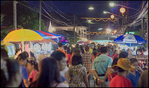 Kathu village (Phuket) street festival 2013