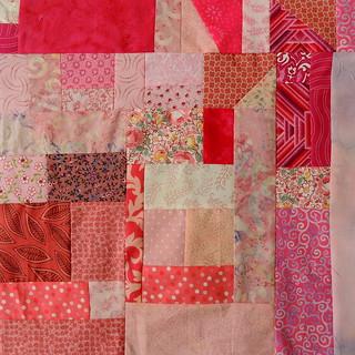 Pink Crumb Square