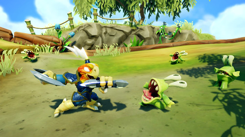 Skylanders SWAP Force - Free Ranger vs Chompies