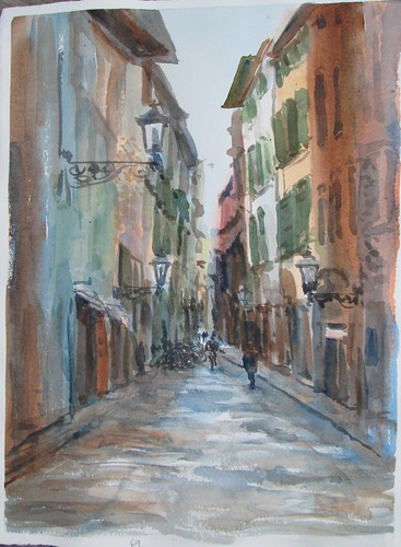 69 Another Italian Street, take 2 by luv2draw