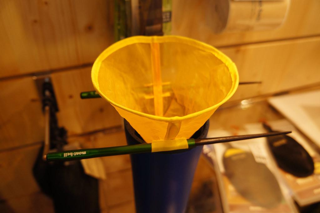 montbell coffee filter & chopsticks