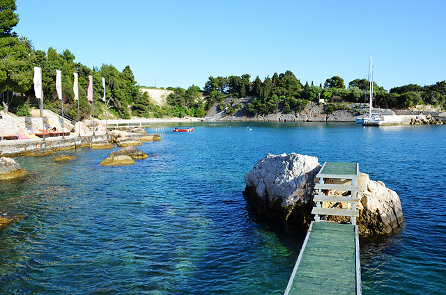 Cove at Hotel Podstine, Hvar, Croatia