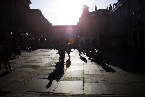 April Sunshine, Bath, England