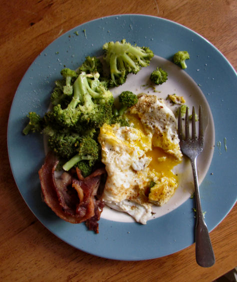 Broccoli Bacon Eggs