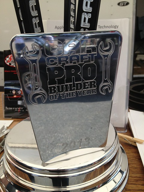 ProBuilder trophy closeup