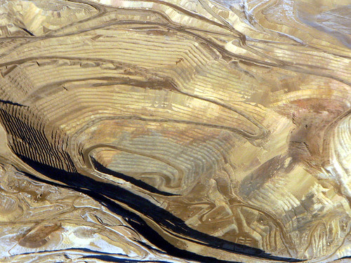 Round Mountain gold mine, aerial photo, 2008