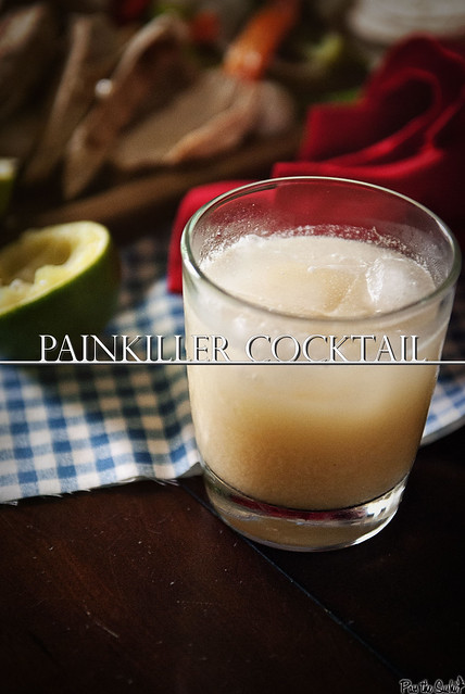 Painkiller Cocktail from PasstheSushi.com