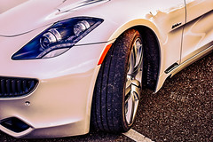 automobile, automotive exterior, wheel, vehicle, performance car, automotive design, fisker karma, bumper, land vehicle, luxury vehicle,