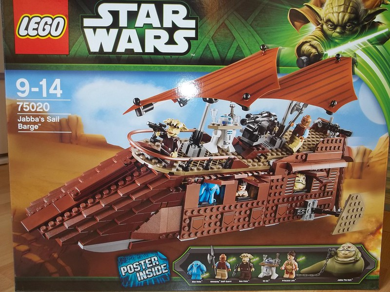 Review 75020 Jabba S Sail Barge Lego Star Wars