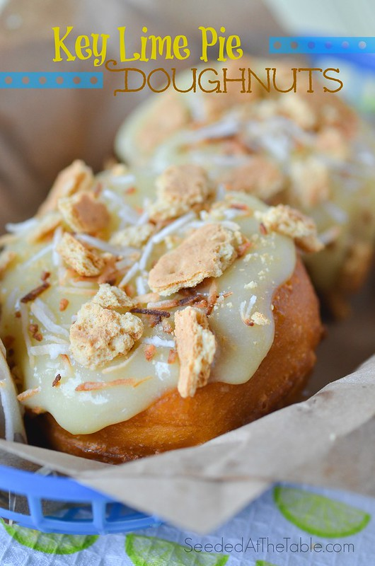 Key Lime Pie Donuts