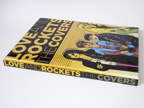 Love and Rockets: The Covers by Gilbert, Jaime, and Mario Hernandez - spine