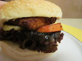 Burgers - Roasted Tempeh and Vegetable Burger