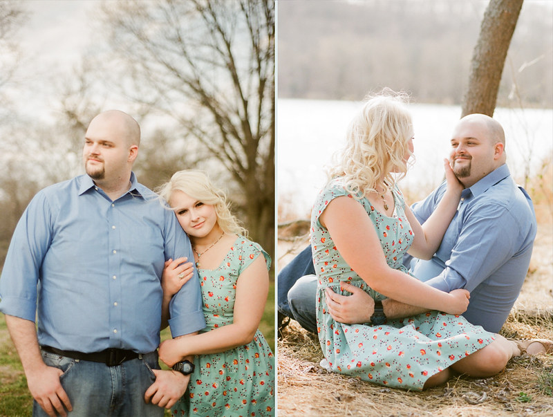 Madison and Paul // Him and Honey - Nashville Film Portrait Photography