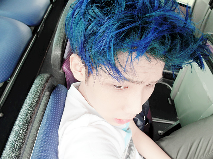 typicalben blue hair 2