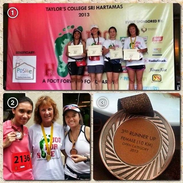 4th Place at Jog4Hope 10km Women's Open
