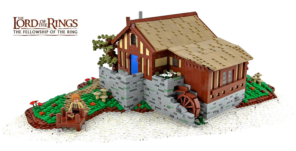 Sandyman's Water-Mill (Hobbiton, The Shire)
