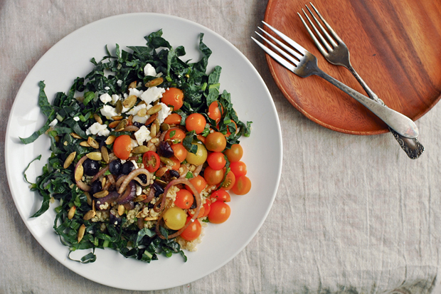 Quinoa Kale Salad from Food52