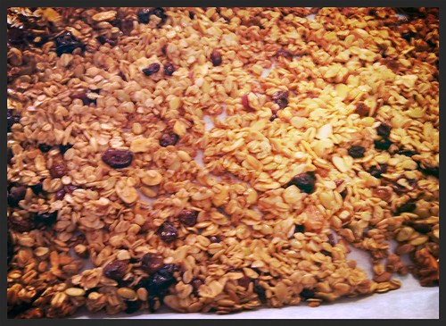 Granola: Warm and Toasty