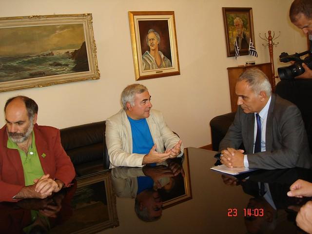 Επίσκεψη Νίκου Χρυσόγελου στο Επιμελητήριο Σερρών