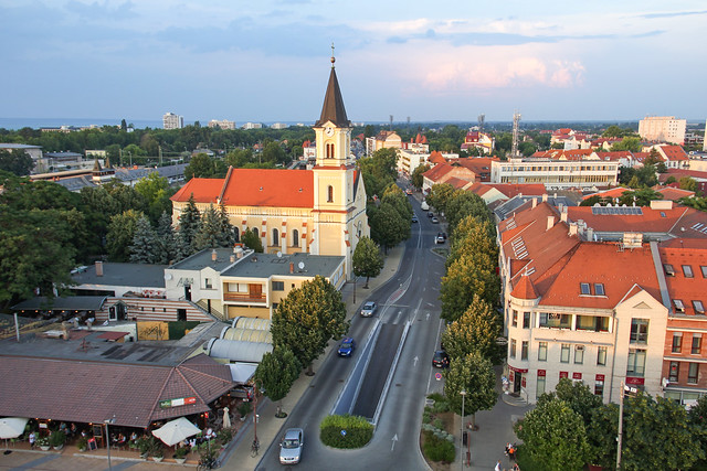 Siofok - view from the water tower