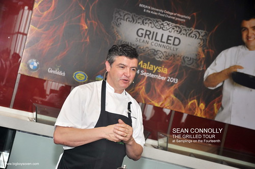 SEAN CONNOLLYTHE GRILLED TOUR at Samplings on the Fourteenth 5