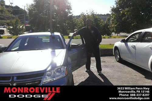 Thank you to Tyrone Miller on your new car  from Eldred Obodai and everyone at Monroeville Dodge! by Monroeville Dodge