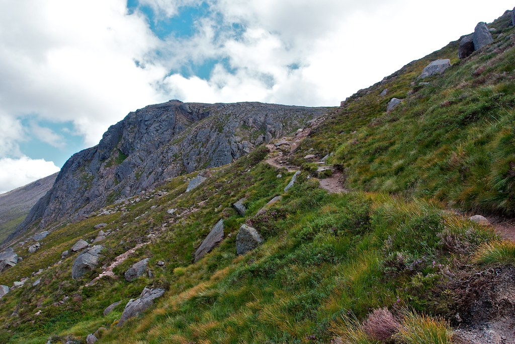 The Coire Etchachan path