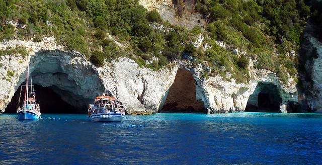 Caves Paxos Island