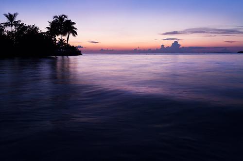ocean sunset night landscape pier dock florida floridakeys keylargo satesh pieratsunset pastelsunset dockatsunset peaceinart pwpartlycloudy