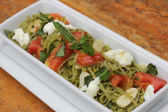 Spinach Taglierini ala checca