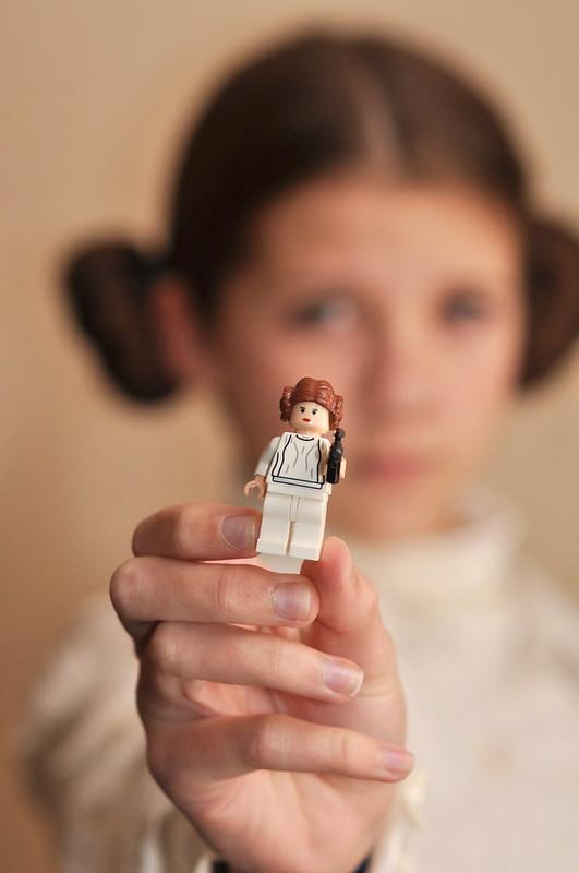 Leia Minifig