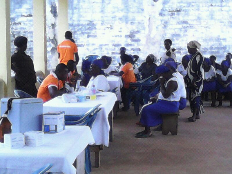 Divine Group International Aids Nsawam Female Prisons