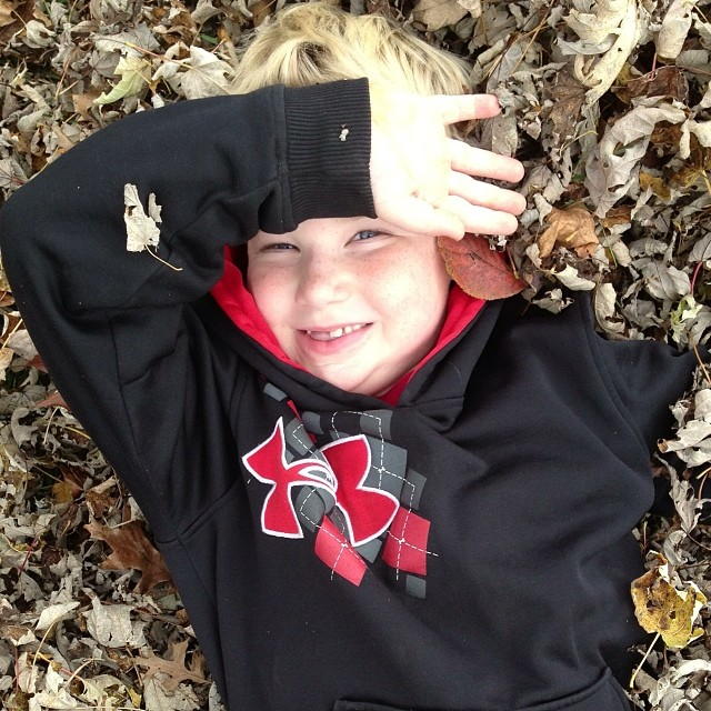"""I love autumn!""~Joshua"