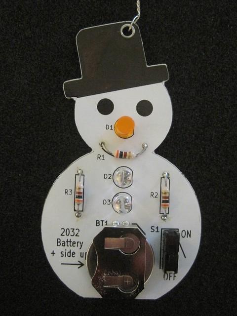 Snowman Kit built