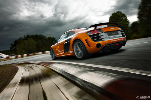 Audi R8GT on Racetrack Gross Dölln #2