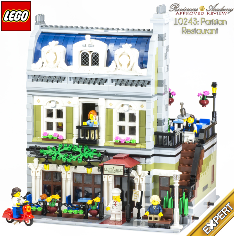 Review 10243 Parisian Restaurant Lego Town Eurobricks Forums